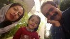 سلفی زیبای بهادر ملکى در کنار همسر و فرزندش! +عکس