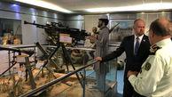 بازدید مراجع تماس گروه مینی دوبلین از نمایشگاه پلیس مبارزه با مواد مخدر ناجا