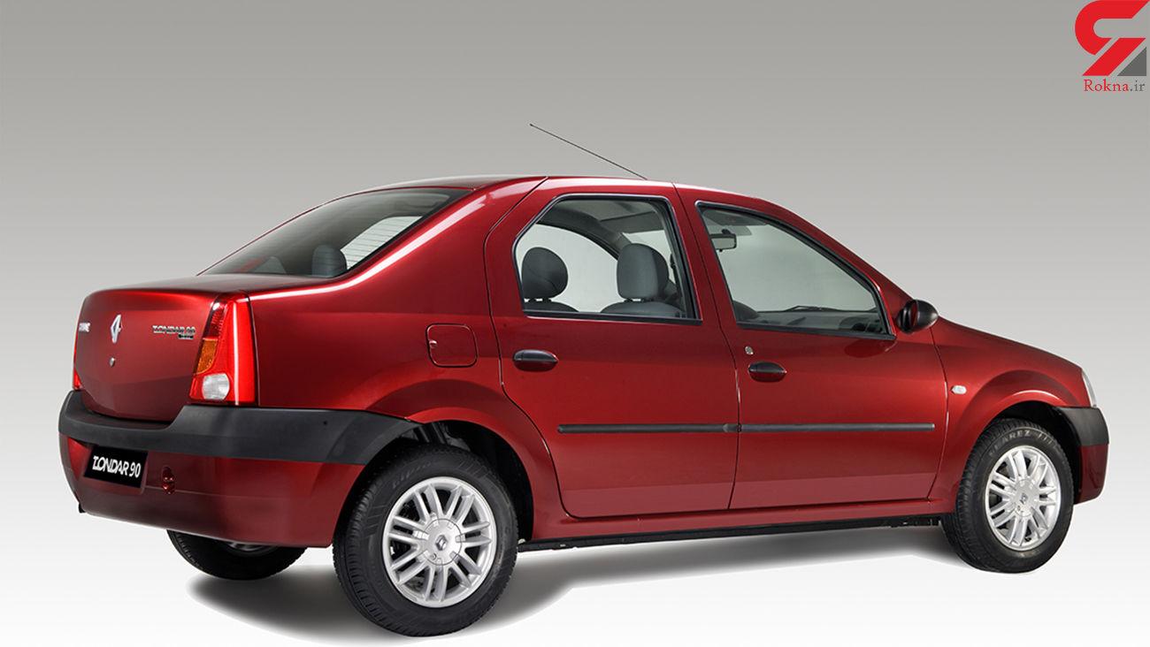 قیمت ماشین های دست دوم رنو تندر 90 و سمند در بازار + جدول