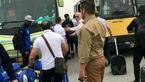 فوری/ نیسان آبی به داد بازیکنان استقلال در اتوبان قم رسید / آن ها سرگردان مانده بودند! + تصاویر
