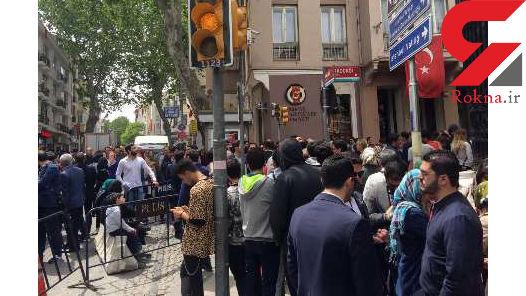 لسآنجلس تایمز از صف طولانی ایرانیان برای شرکت در انتخابات نوشت
