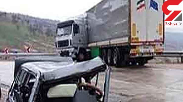 حادثه رانندگی در محور ازنا _شازند ۵ کشته بر جای گذاشت