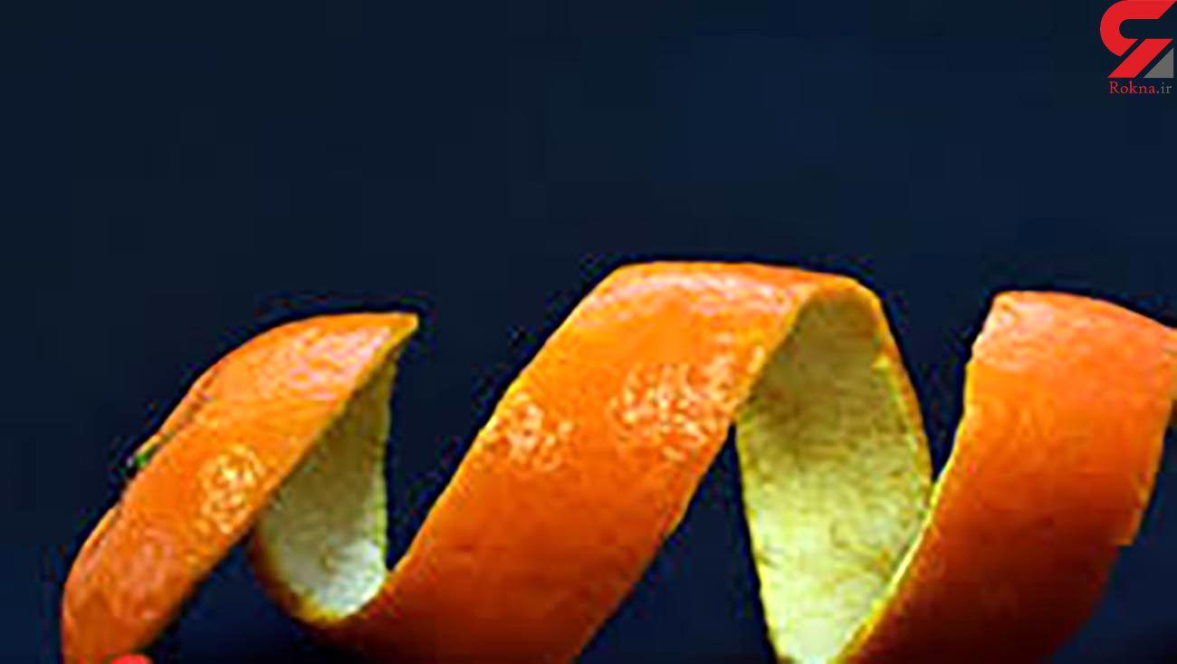 پوست پرتقال پوست چربی هایتان را می کند!