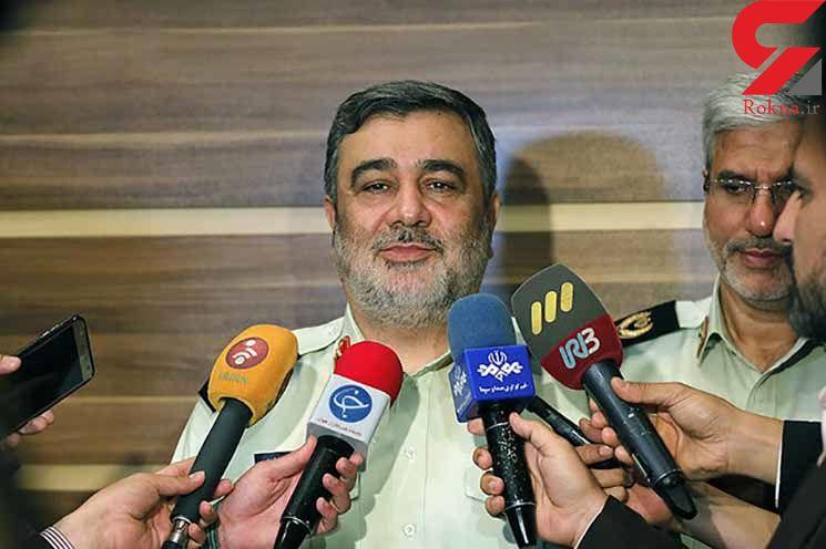 سردار اشتری: پلیس در اعتراضات اخیر سلاح نداشته است