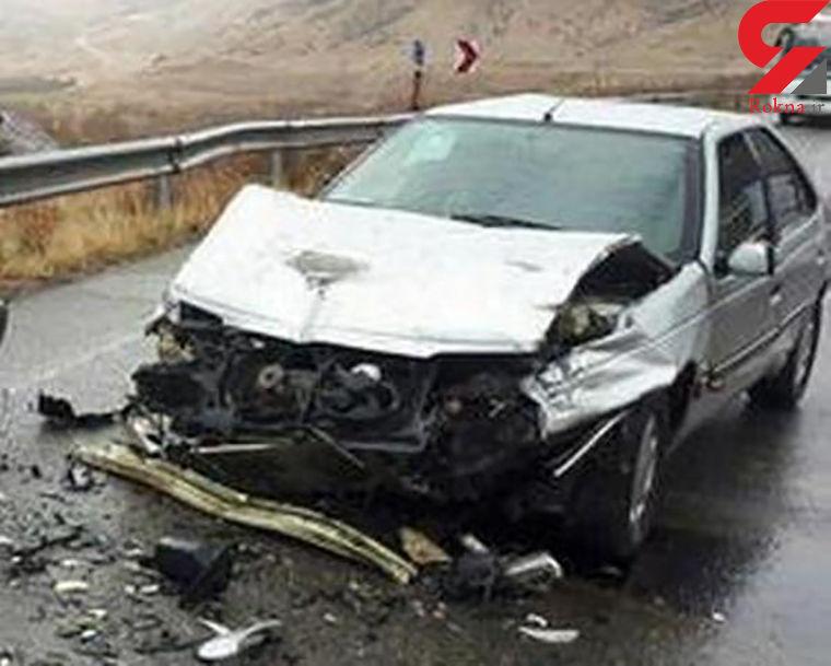 واژگونی پژو با یک کشته و 2 مجروح در فارس