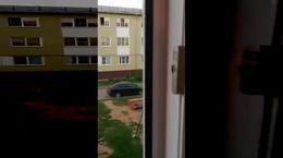 وحشت 3 کودک داخل آپارتمان در حال سوختن + فیلم فداکاری