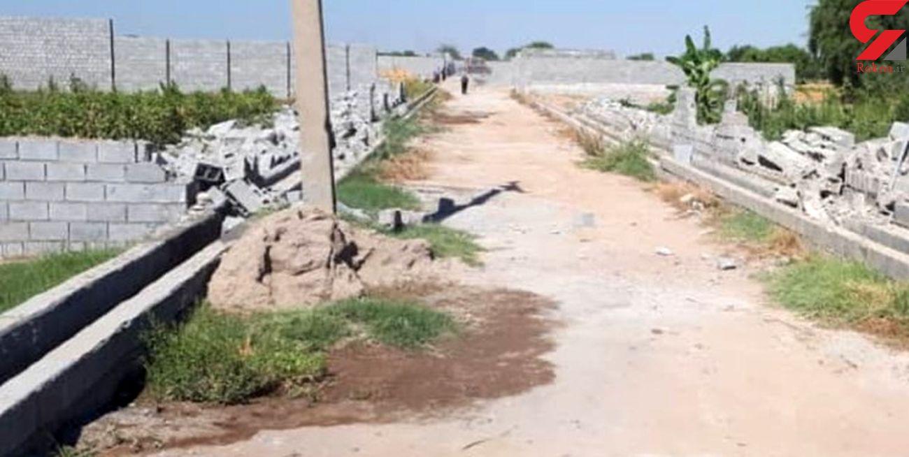 تخریب 88 قطعه باغ غیرمجاز در دزفول