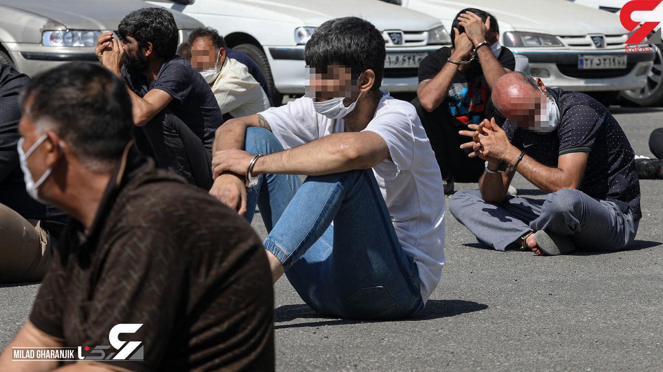 دستگیری باند سارقان خودرو در ساوجبلاغ