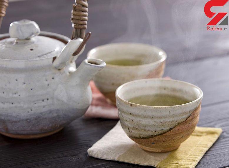 درمان نفخ معده با چای های گیاهی