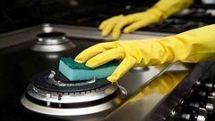 ترفندهای پاک کردن میله های گاز خوراک پزی