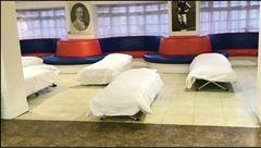 باشگاه فوتبالی که پناهگاه شد