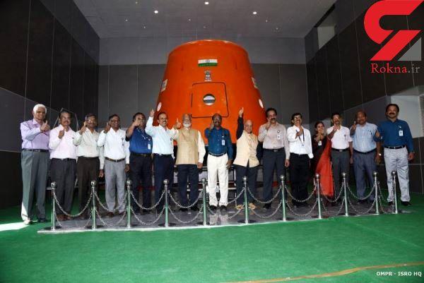 فضانورد هندی به مدار زمین سفر می کند