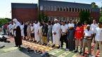 اقامه نماز باران در سوئد +تصاویر