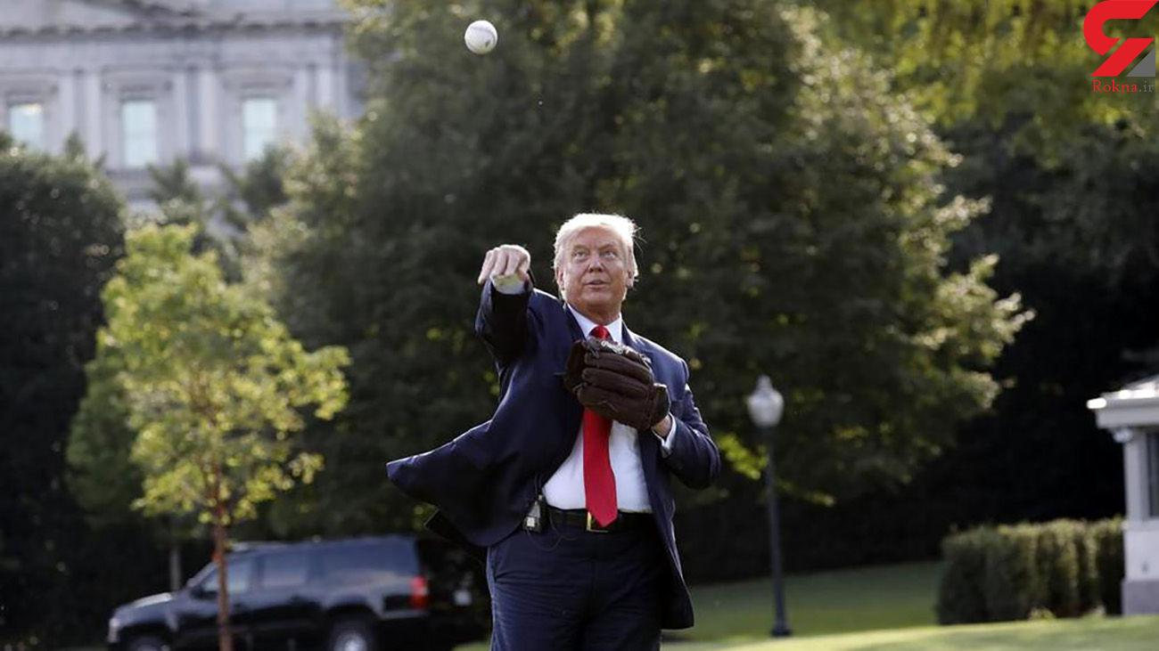 جولان ورزشی ترامپ در کاخ سفید + عکس