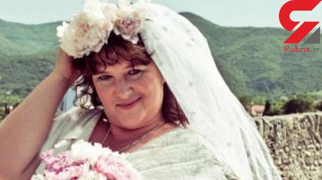 ازدواج عجیب یک زن با پل + عکس