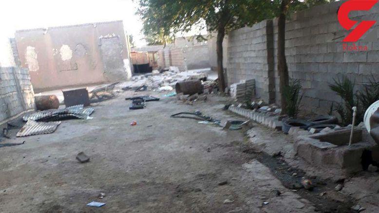 عکس های باورنکردنی از خانه های یک روستا که با کپسول گاز منفجرشان کردند! / مردان 2 طایفه بی رحم بودند+ جزییات
