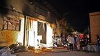 آتش سوزی هولناک در کارگاه قطعات پلاستیکی / در جاده مشهد-چناران رخ داد + عکس ها