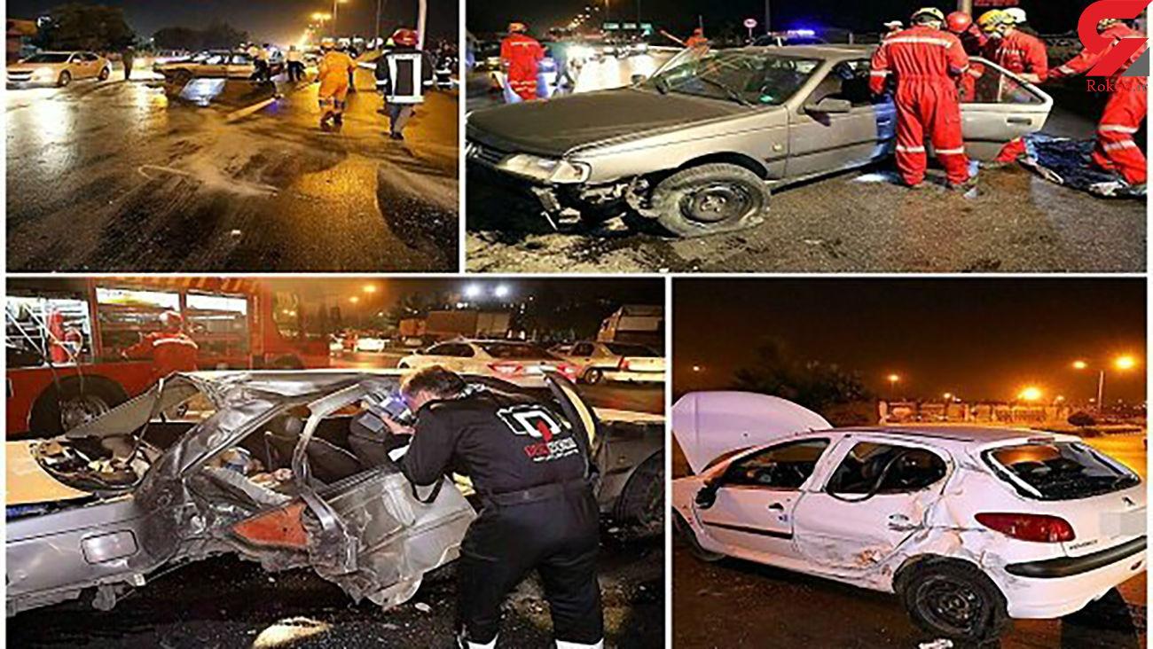 2 مرگ دردناک صبح امروز در مشهد + عکس