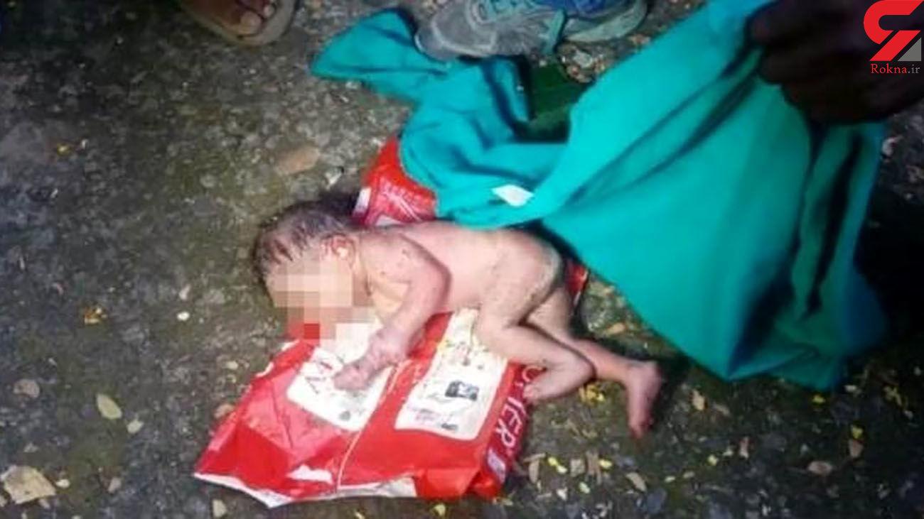 مورچه ها نوزاد دختر را زنده زنده خوردند!  + عکس 16+
