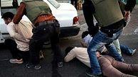 دستگیری اشرار قمه به دست نازی آباد / 7 شرور مسلح به جان حسین افتادند