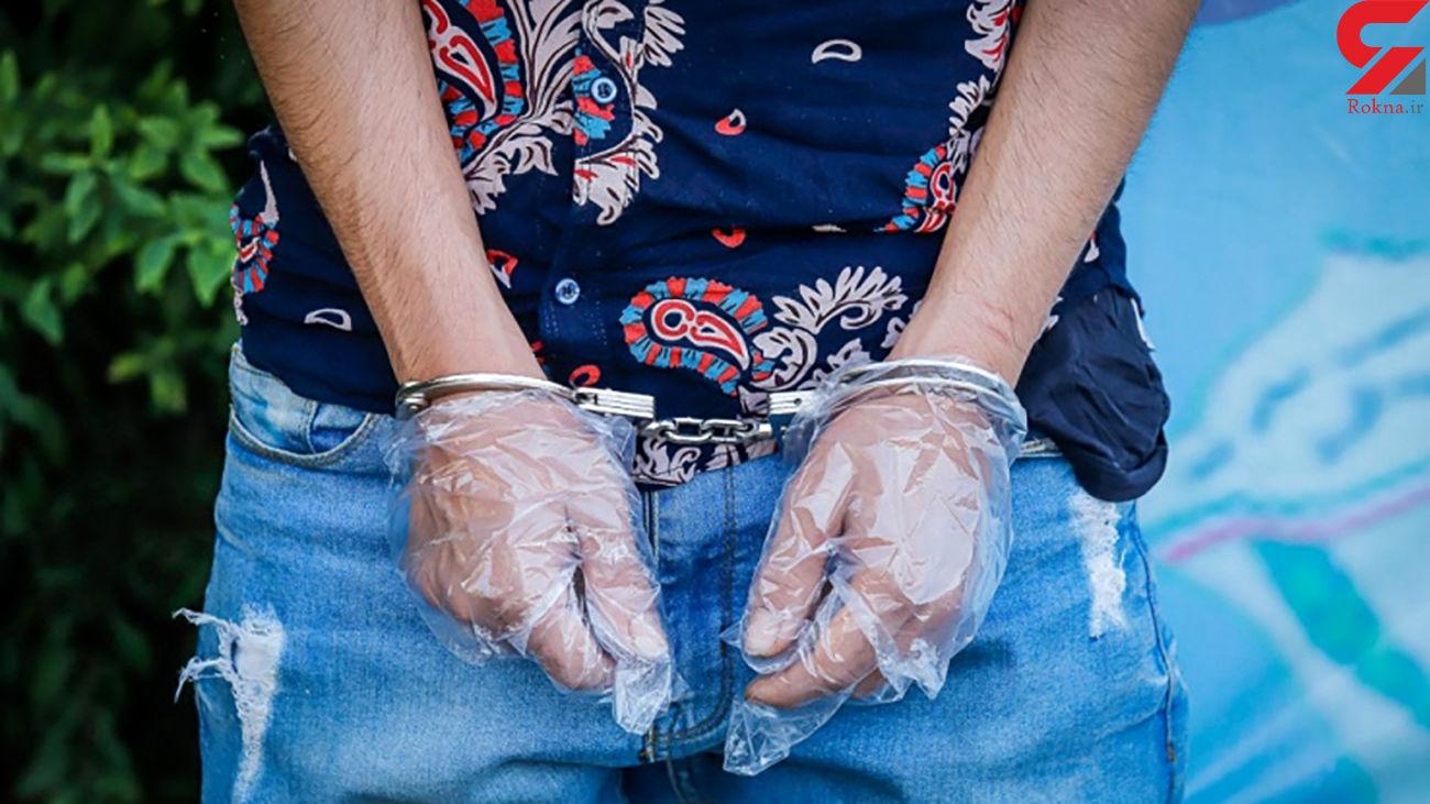 دستگیری سارق خودرو در 30 دقیقه توسط پلیس کاشان