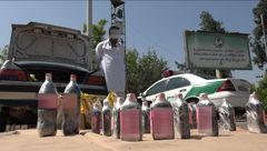 تعقیب و گریز پلیسی کارآگاهان تهرانی برای در سوداگر افیونی با 20 کیلو تریاک+عکس