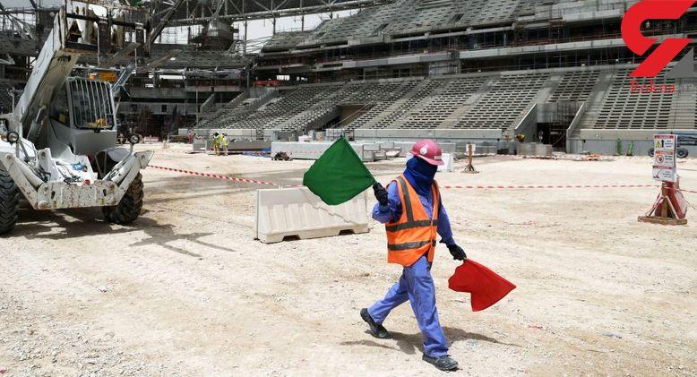 جان ۴ هزار کارگر فدای جام جهانی 2022 قطر می شود / مرگ روزانه یک کارگر !