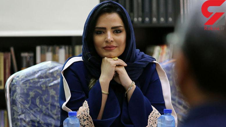 همکاری خانم بازیگر با شاعر معروف ایرانی+عکس ها