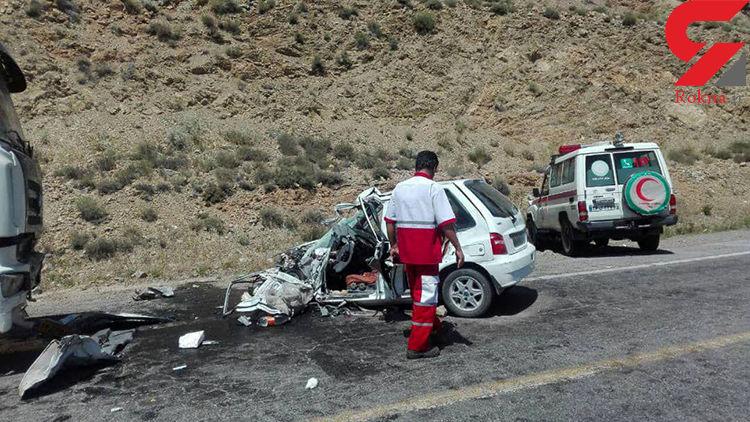 حادثه رانندگی در سیرجان یک کشته برجا گذاشت