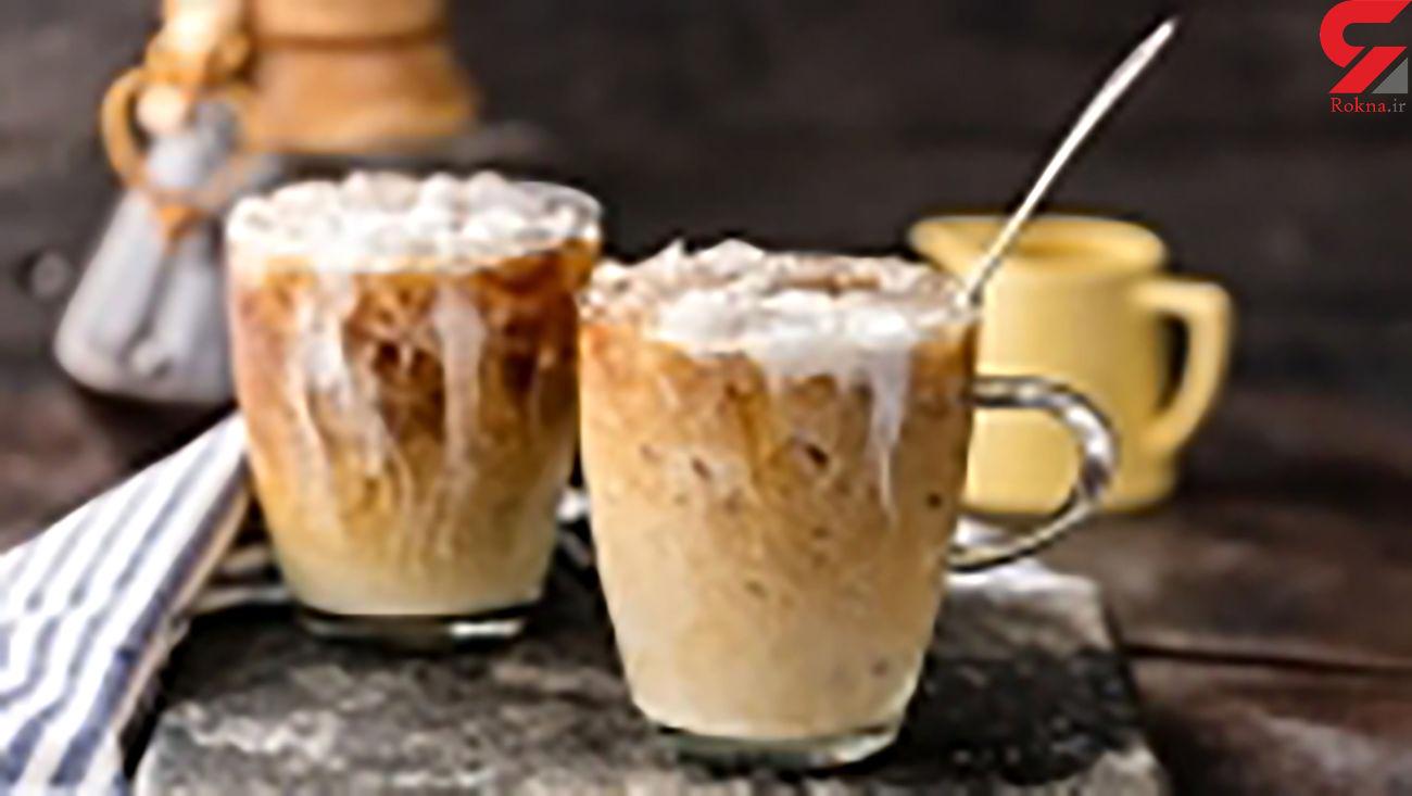 قهوه سرد تایلندی روحیه شما را تغییر می دهد + طرز تهیه