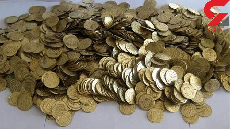 کشف 361 قطعه سکه تقلبی دوره ساسانی در نیشابور