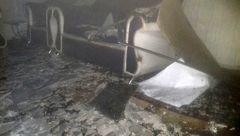 آتش اختلاف زن و شوهر به جان خانه افتاد+ عکس