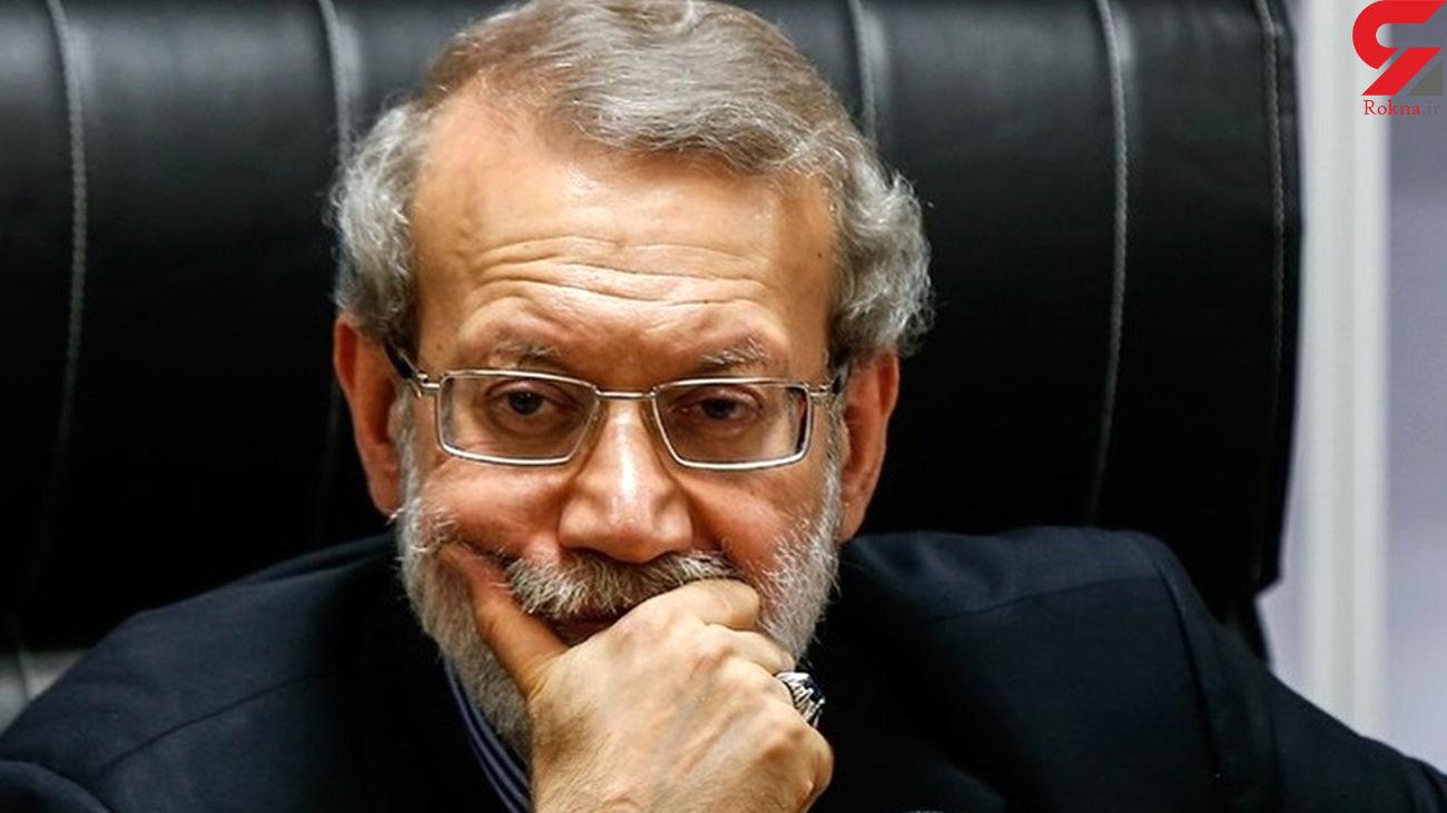 لاریجانی : رقابت جدی در صحنه انتخابات ندیدم