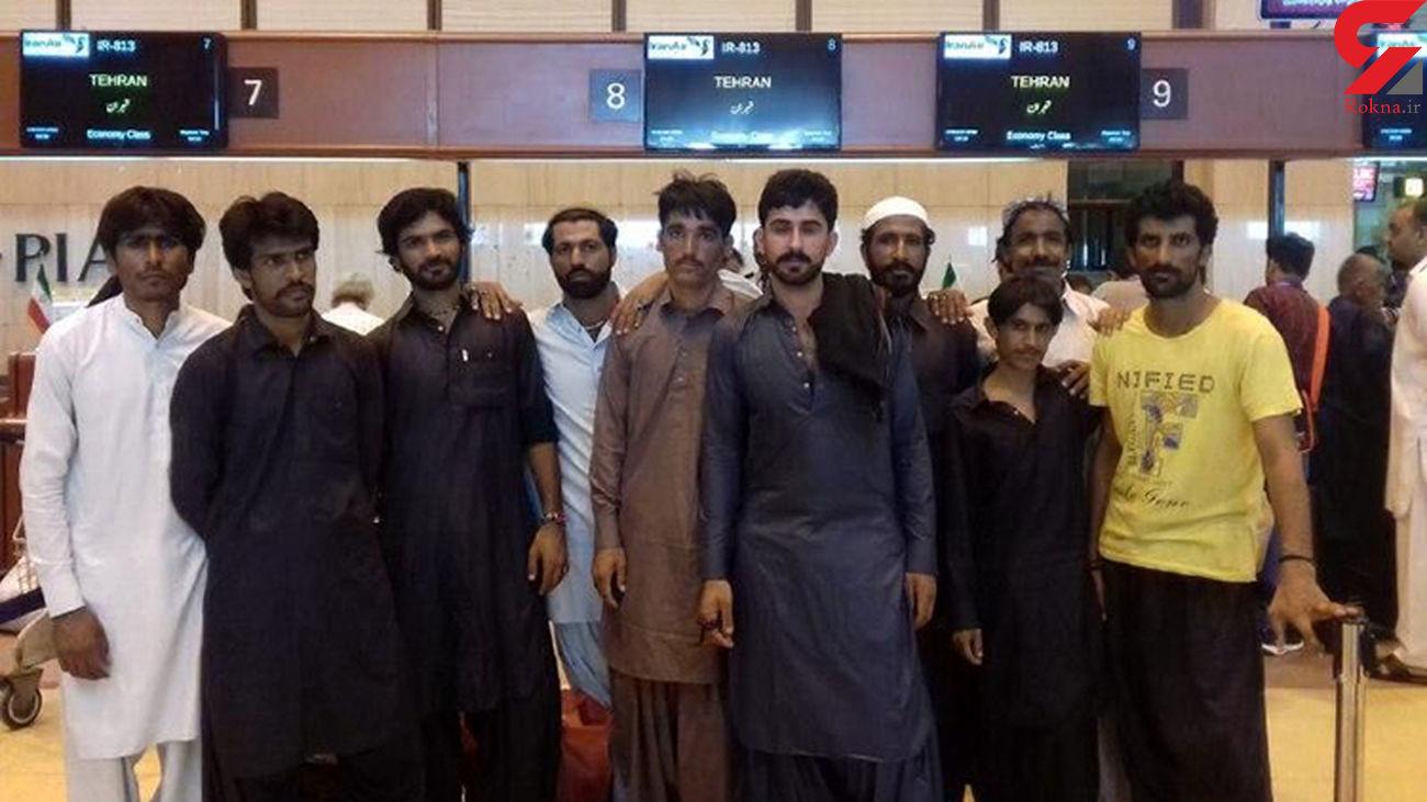 گروه دیگری از ملوانان ایرانی آزاد شدند + عکس