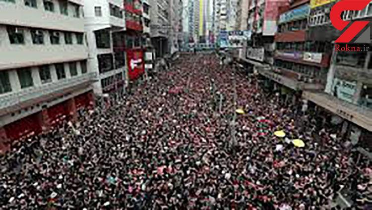 در پی خشونت ها، فعالیت های تمامی قطارهای شبکه ریلی هنگ کنگ متوقف شد