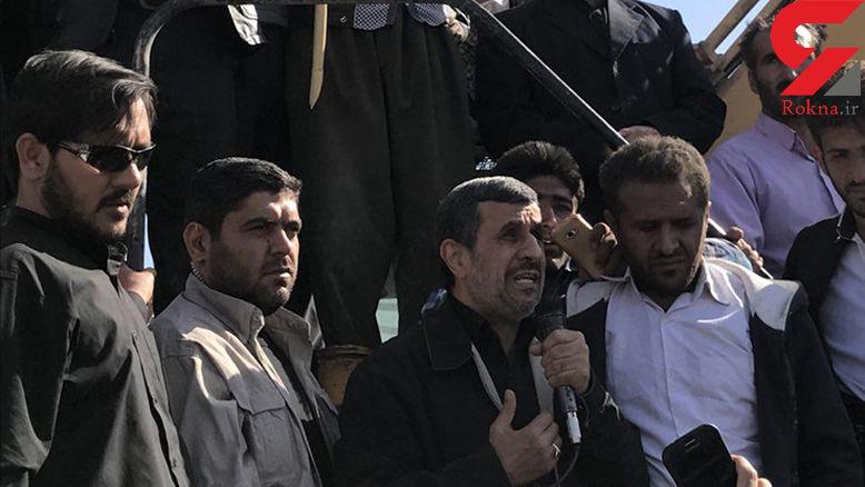اولین اظهار نظر احمدی نژاد درباره مسکن مهر زلزله زدگان + فیلم گفتگو با رکنا