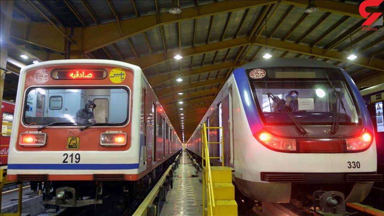 در 2.5 سال آینده 15 رام قطار به مترو تهران اضافه می شود