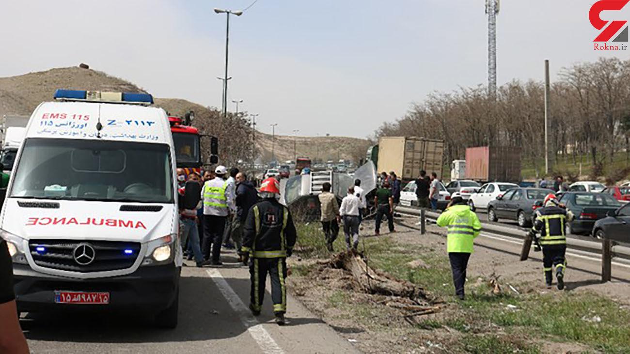 عکس / 4 کشته در حادثه وحشتناک تبریز