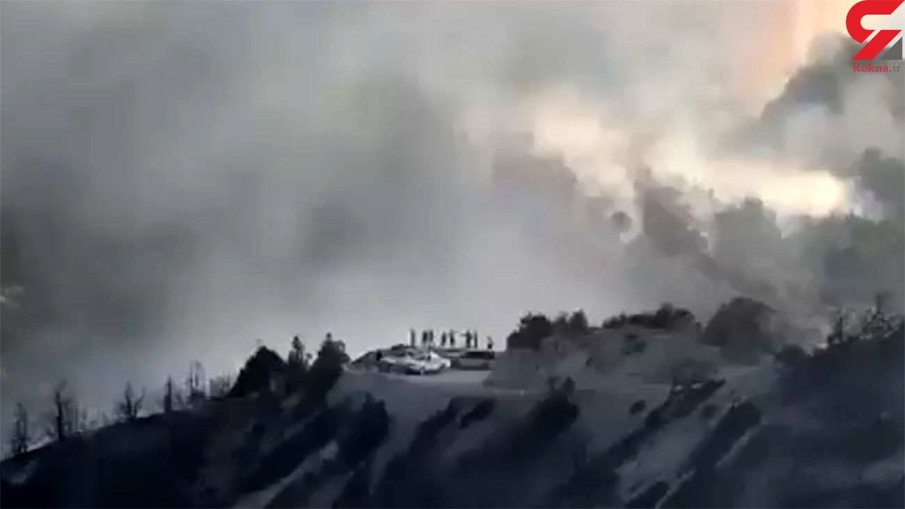 آتش سوزی در جهان نما + فیلم