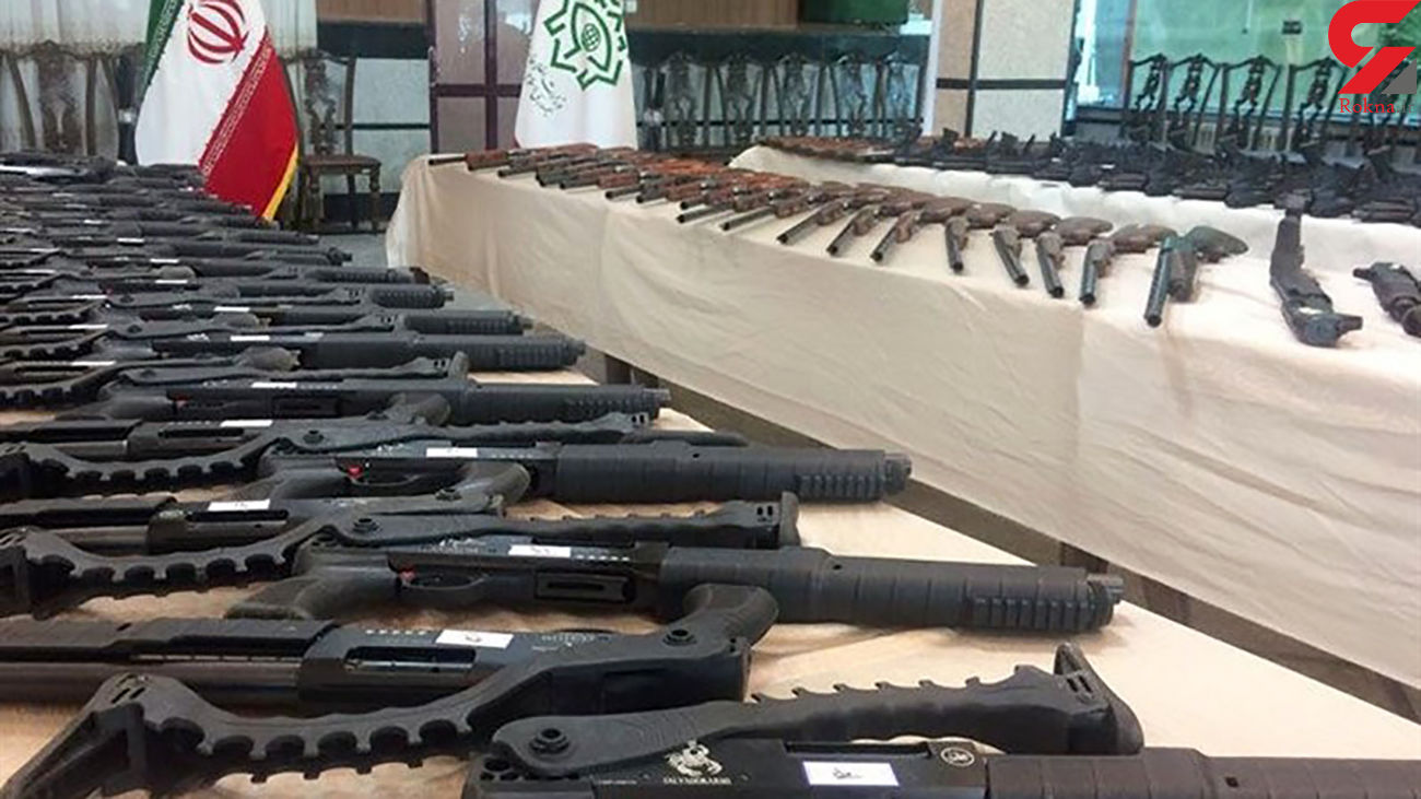 قاچاقچیان اسلحه در مرز خوزستان زمینگیر شدند
