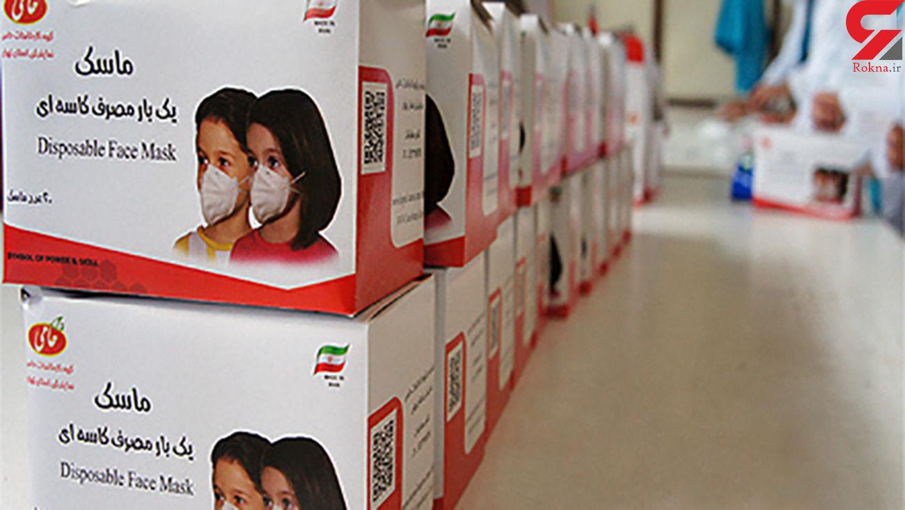 زندان های تهران به تولیدات ضد کرونا پرداخت