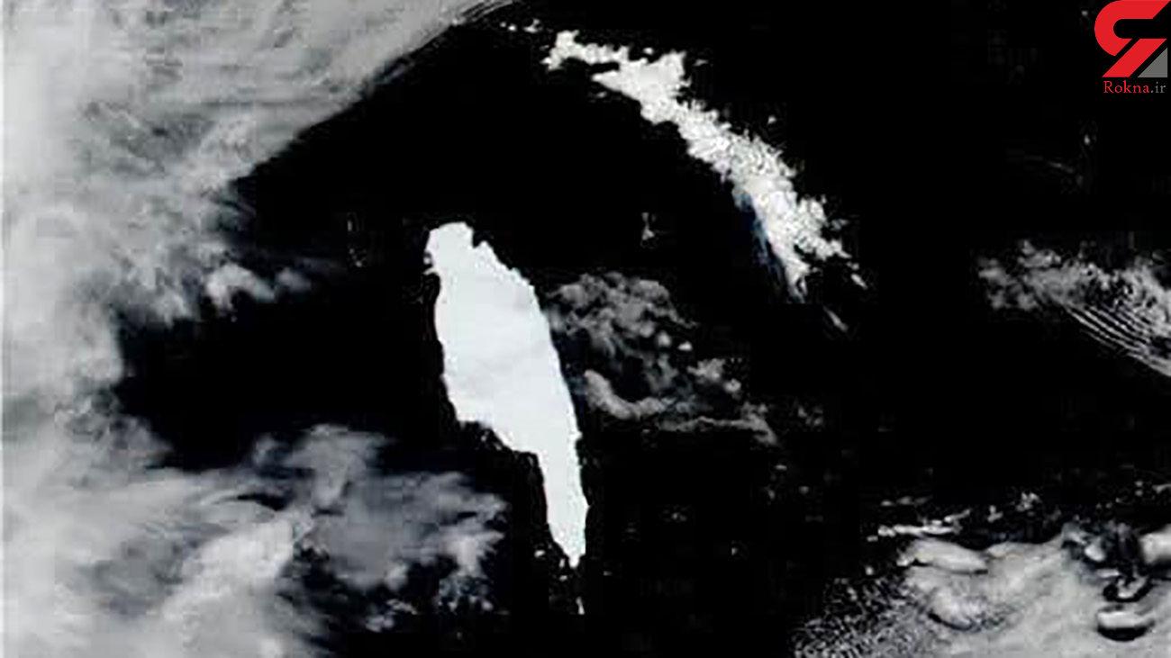 بزرگترین کوه یخی جهان ذوب شد + فیلم
