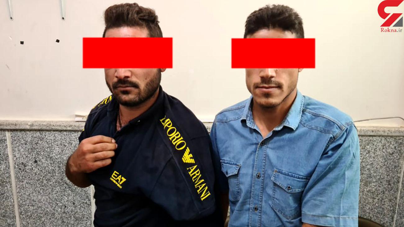 بازداشت 2 شیطان درشادگان / زنان از خشونت آن ها گفتند +  عکس