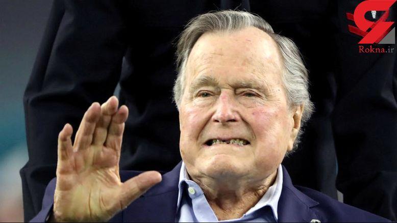جرج بوش درگذشت +عکس