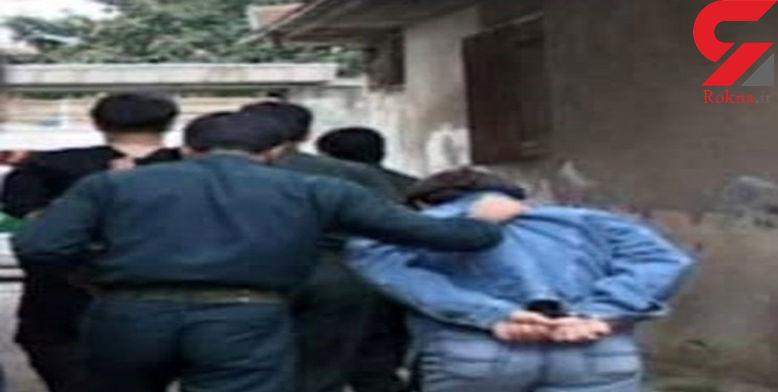 دستگیری شرور سابقه دار در کرمانشاه