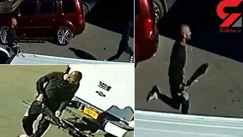 فیلم قمه کشی در پارکینگ عمومی