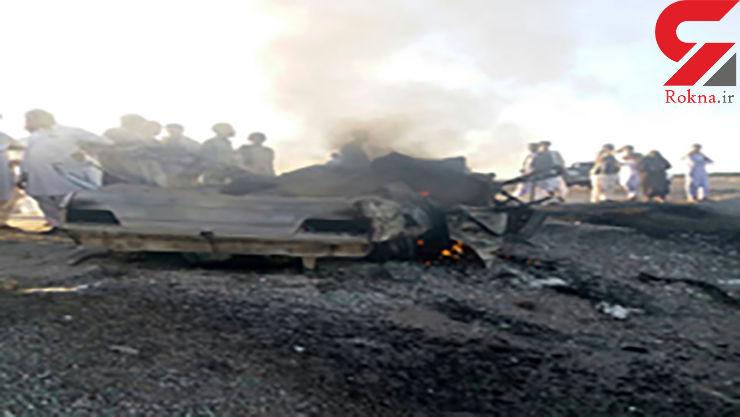 مرگ وحشتناک 5 نفر در سیستان و بلوچستان +عکس