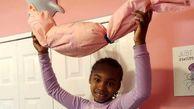 دختر ۷ ساله ۸۰۰ ماسک برای بی خانمان ها دوخت