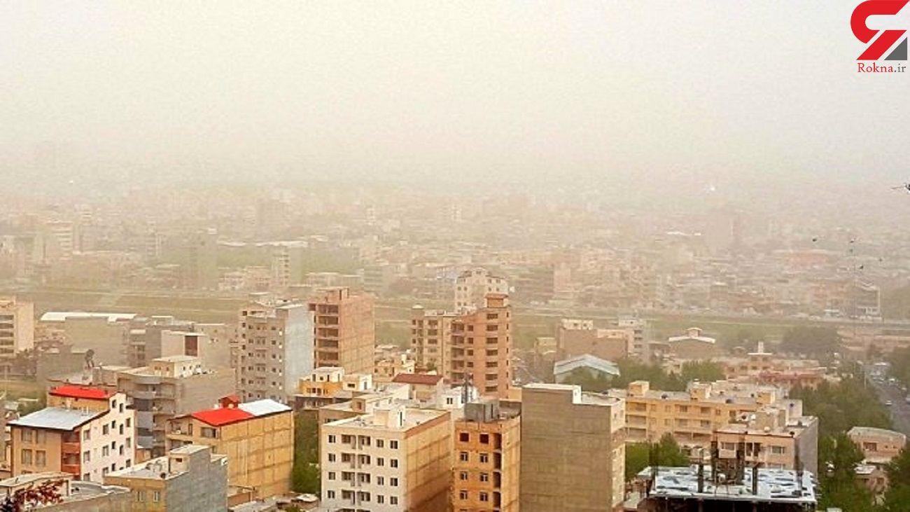 آلاینده ازن هوای تهران را ناسالم کرد
