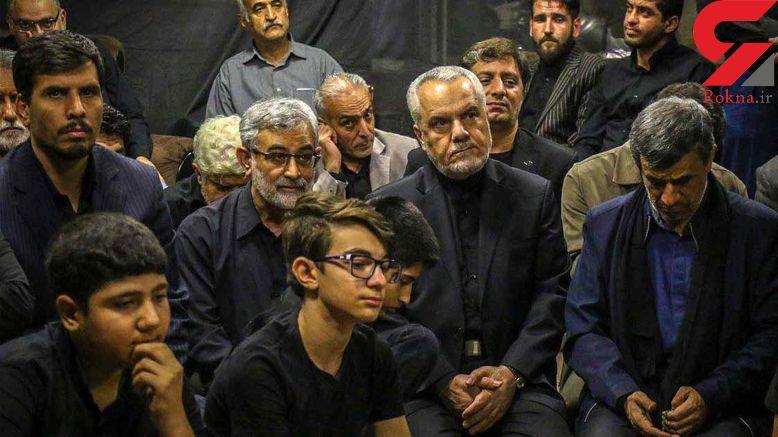 اولین عکس از دیدار احمدینژاد و رحیمی پس از آزادی از زندان